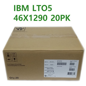 IBM정품 LTO5-20PK, 1.5TB/3.0TB 46X1290 x 20pcs, With Label 3589-010
