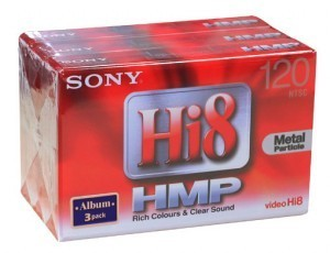 SONY Hi 8mm(120분) 3팩