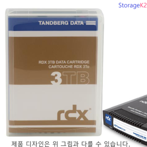 3TB 8807-RDX Tandberg HDD media for RDX