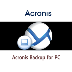 ACRONIS® BACKUP for PC