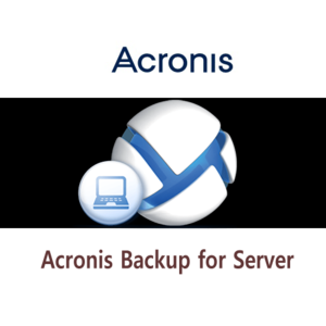 ACRONIS® BACKUP for Server