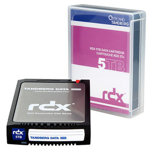 5TB Tandberg HDD media for RDX